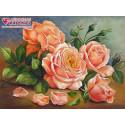 Ароматные розы Алмазная вышивка мозаика