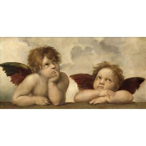 Ангелы Рафаэля Алмазная вышивка мозаика АЖ-1535