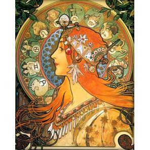 Зодиак Алмазная вышивка мозаика АЖ-1536