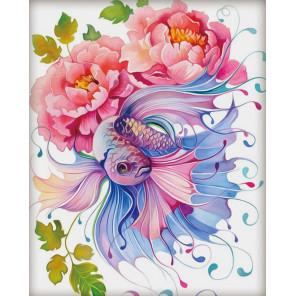Акварельная фантазия Алмазная вышивка мозаика АЖ-1557
