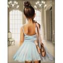 Юная балерина Алмазная вышивка мозаика