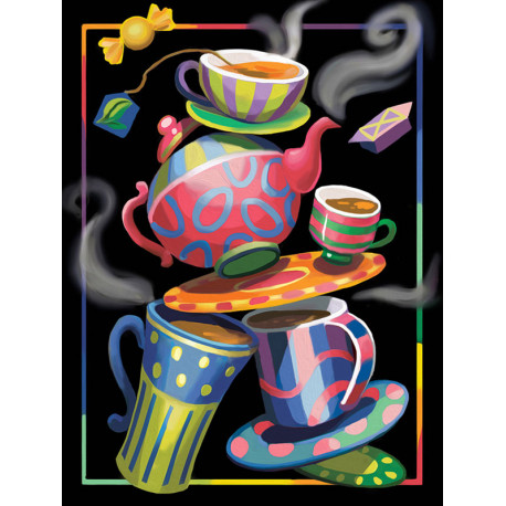 Чайная фантазия Алмазная вышивка мозаика АЖ-1581