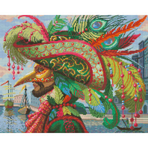 Капитан на карнавале Алмазная вышивка мозаика АЖ-1587
