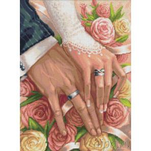 В день свадьбы Алмазная вышивка мозаика АЖ-1667