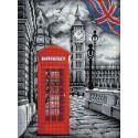 В Лондоне Алмазная вышивка мозаика АЖ-1669