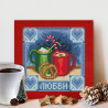 Пожелание любви Алмазная вышивка мозаика АЖ-1670