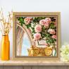 Арка и розы Алмазная вышивка мозаика АЖ-1678