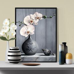 Орхидея Алмазная вышивка мозаика АЖ-1679