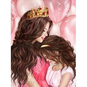 Моя принцесса Алмазная вышивка мозаика АЖ-1691