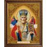 Икона Николай Чудотворец Алмазная вышивка мозаика АЖ-5028