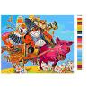 Раскладка Веселое путешествие Раскраска картина по номерам на холсте Z-Z25362