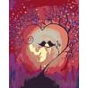 Магия любви Раскраска картина по номерам на холсте RA210