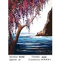 Количество цветов и сложность Весна на море Раскраска картина по номерам на холсте RA222