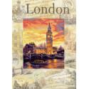 Города мира. Лондон Набор для вышивания Риолис 0019 РТ
