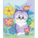 Котик Набор для вышивания бисером Риолис 0060 РТ