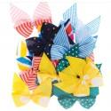 Spots & Stripes Brights Бантики Украшения для скрапбукинга, кардмейкинга Docrafts