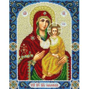 Св. Богородица Смоленская Набор для вышивания бисером Паутинка Б-1097