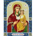 Св. Богородица Смоленская Набор для вышивания бисером Паутинка