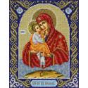 Св. Богородица Почаевская Набор для вышивания бисером Паутинка