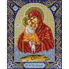 Св. Богородица Почаевская Набор для вышивания бисером Паутинка Б-1098