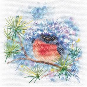 Снегирек Набор для вышивания Овен 1159