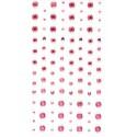 Нежно-розовые Стразы декоративные самоклеющиеся элементы 104 шт Docrafts