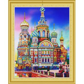 Храм Василия Блаженного Алмазная вышивка мозаика 5D Color Kit FKU014