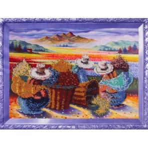 Цветочницы Набор для вышивания бисером Color Kit VS011