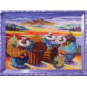 Цветочницы Набор для вышивания бисером Color Kit