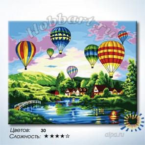 Фестиваль воздушных шаров Раскраска по номерам на холсте Hobbart HB4050318-Lite