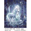 Количество цветов и сложность Волшебная луна Раскраска картина по номерам на холсте KTMK-11260