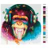 Раскладка Веселая музыка Раскраска картина по номерам на холсте KTMK-63387