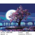 Количество цветов и сложность Дерево мудрости Раскраска картина по номерам на холсте KTMK-07909