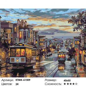 В старом городе Раскраска картина по номерам на холсте KTMK-61509