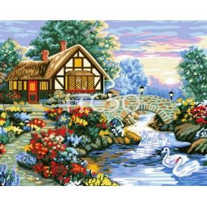 Весенняя пора Раскраска по номерам акриловыми красками на холсте Iteso