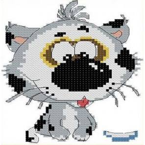 Котенок Набор для вышивания Каролинка