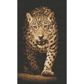 Леопард. Хищники Набор для вышивания Каролинка