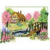 Весеннее цветение Набор для вышивания Каролинка