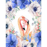 Влюбленные фламинго Алмазная мозаика на подрамнике