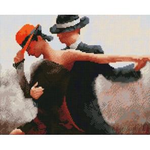 В ритме танго Алмазная мозаика на подрамнике