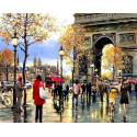 Мой любимый Париж Алмазная мозаика на подрамнике