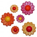 Солнечные цветы Пуговицы декоративные Jesse James & Co