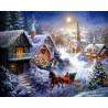 Рождество Алмазная мозаика на подрамнике