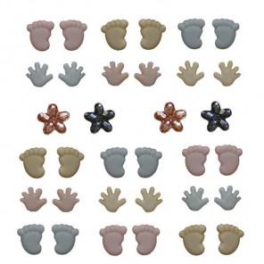 Ten Tiny Toes Пуговицы декоративные Jesse James & Co