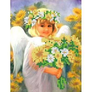 Солнечный ангел Набор для вышивки бисером Каролинка