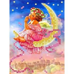 Мечты в небе Набор для вышивки бисером Каролинка