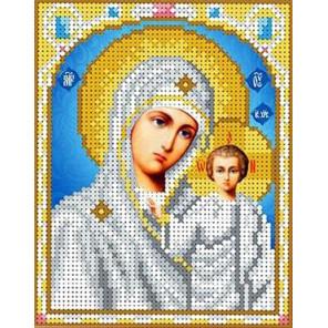 Богородица Казанская Набор для вышивки бисером Каролинка
