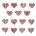 Сердечки Baby Girl Пуговицы декоративные Jesse James & Co