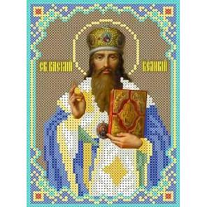 Святой Василий Набор для вышивки бисером Каролинка