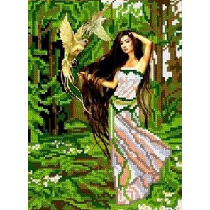 Лесная фея Набор для вышивки бисером Каролинка